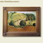 Repro - Grant Wood - Landschaft