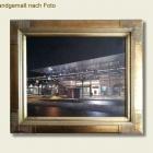 Bild nach Foto - Bahnhof Baden