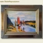 Repro - Claude Monet - Hafen