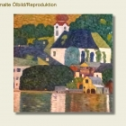 Repro - Gustav Klimt - Attersee